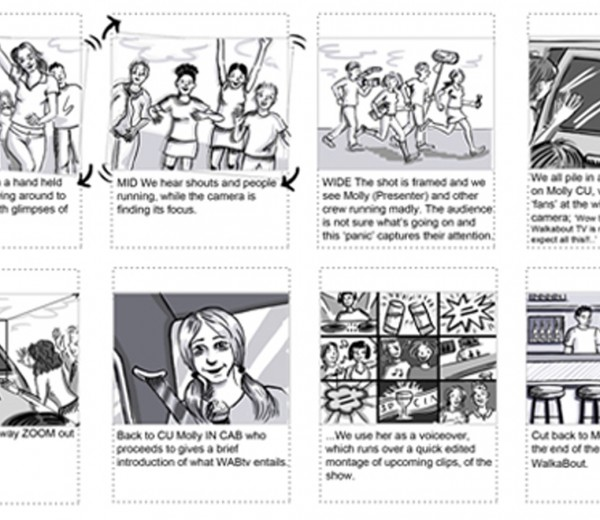 Wab TV Storyboards